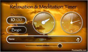Temporizador de meditación online